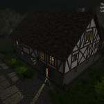 WIP screenshot from The Tavern