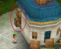 Barrels and crates in GodsWarOnline